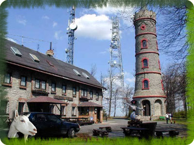 View-tower Jedlová with restaurant